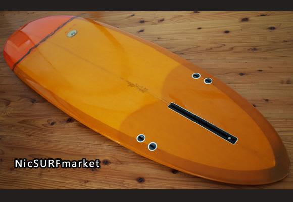 MICHAEL MILLER SURFBOARDS explorer egg 6`6 repair-入荷しました!ボトム