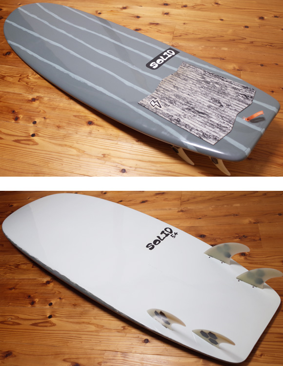 SOLID 中古ショートボード 6`3 SOAP ミニシモンズ EPS deck/bottom No.96291415