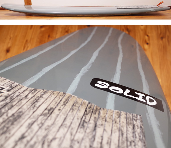 SOLID 中古ショートボード 6`3 SOAP ミニシモンズ EPS deck-condition No.96291415