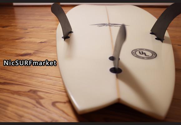 アルメリック FlyerⅡ 中古ショートボード 6`2 bottom-design No.96291418