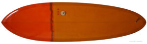 MICHAEL MILLER SURFBOARDS explorer egg 6`6 中古ファンボード deck-zoom No.96291419