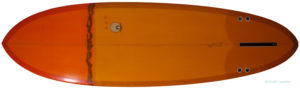 MICHAEL MILLER SURFBOARDS explorer egg 6`6 中古ファンボード bottom-zoom No.96291419