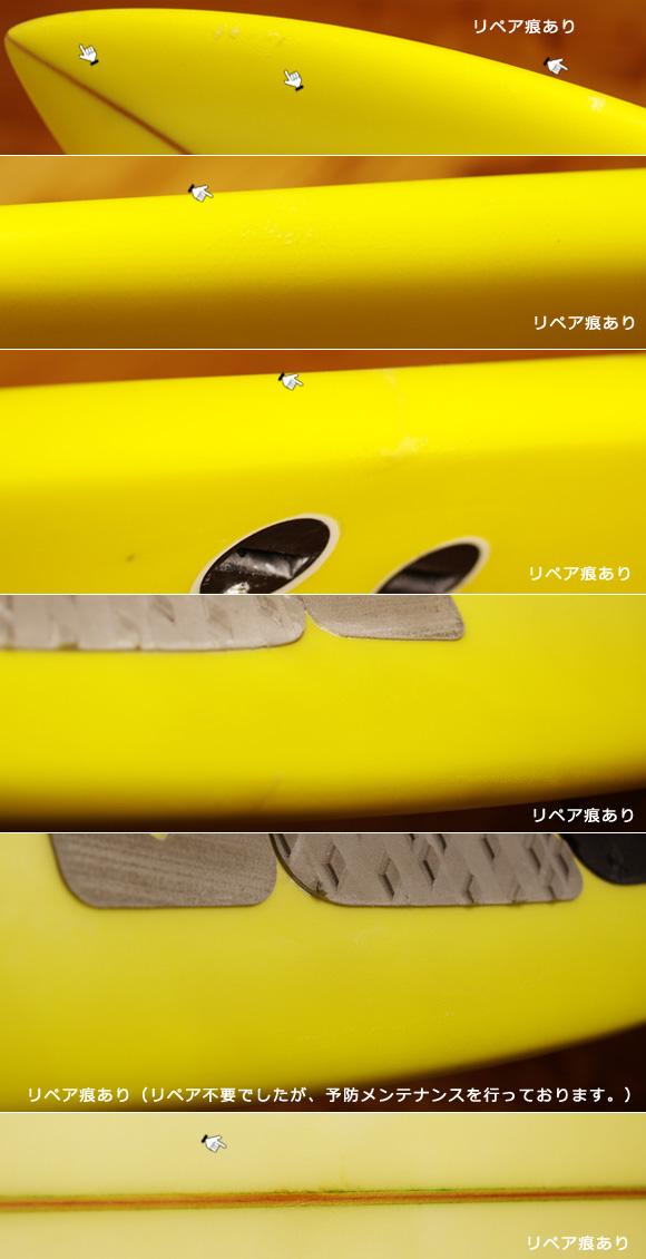 NEV サーフボード 中古ショートボード 6`0 NFIJ condition-2 No.96291420