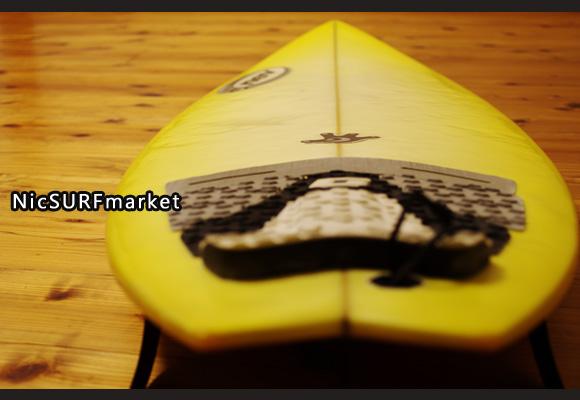 NEV サーフボード 中古ショートボード 6`0 NFIJ deck-detail No.96291420