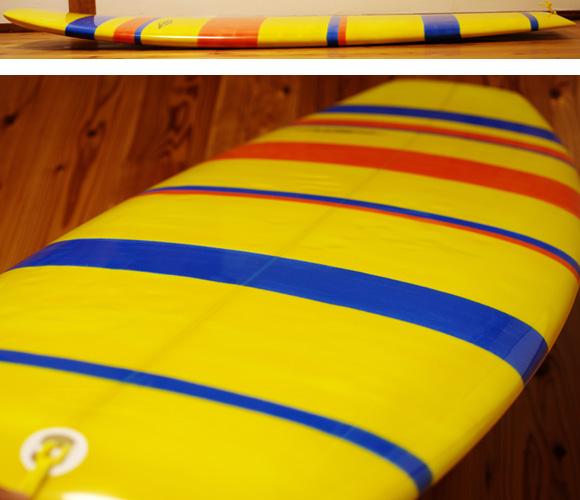 PEARTHサーフボード クラッシックモデル FUNNY 5`8 中古ミニボード deck-condition No.96291421