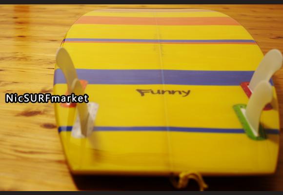 PEARTHサーフボード クラッシックモデル FUNNY 5`8 中古ミニボード bottom-design No.96291421