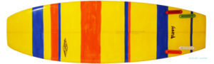 PEARTHサーフボード クラッシックモデル FUNNY 5`8 中古ミニボード bottom-zoom No.96291421