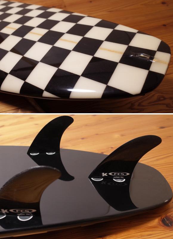 WTW SURFBOARD 6`3 中古ショートボード/ K.HATAシェイプ tail No.96291423