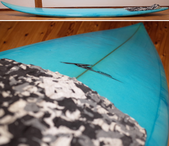AZサーフボード 中古ショートボード 6`0 Custom deck-condition No.96291424