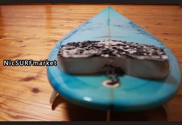AZサーフボード 中古ショートボード 6`0 Custom deck-detail No.96291424