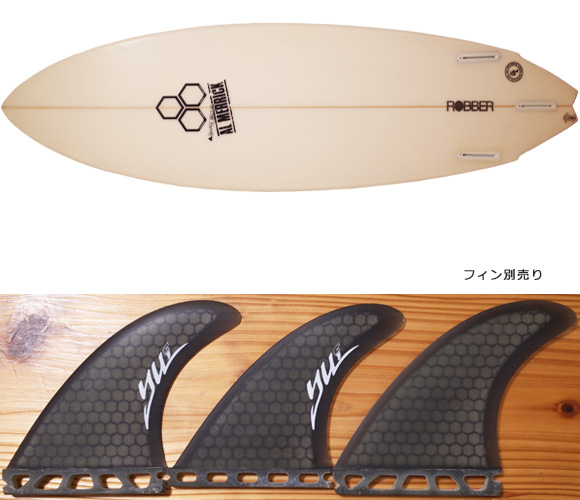 アルメリック ROBBER 5`9 中古ショートボード fin/option No.96291428