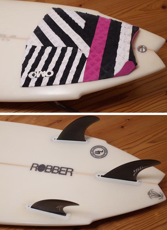 アルメリック ROBBER 5`9 中古ショートボード tail No.96291428