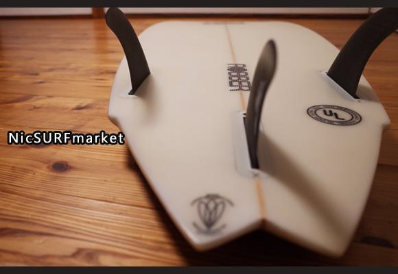 アルメリック ROBBER 5`9 中古ショートボード bottom-design No.96291428