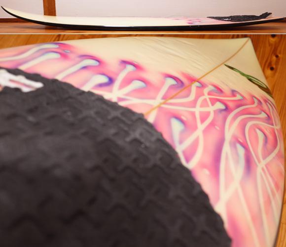 3Dimension 中古ショートボード 5`10 LA deck-condition No.96291429