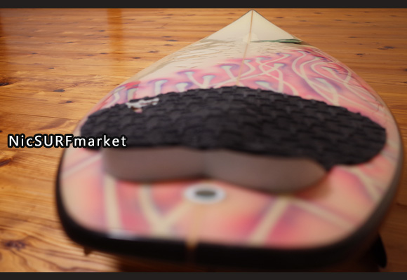 3Dimension 中古ショートボード 5`10 LA deck-detail No.96291429