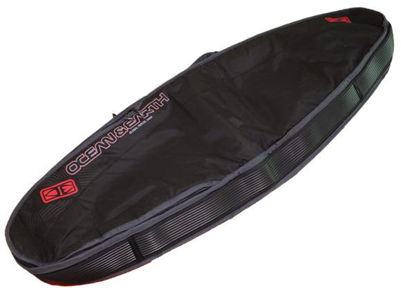 OCEAN&EARTH 中古ハードケース トリプルコンパクトショートボード 6`4 トラベル用/旅行 back No.96291430