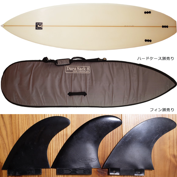 RAMi SURFBOARD 中古ショートボード 6`3 fin/ハードケース No.96291431