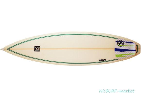 RAMi SURFBOARD 中古ショートボード 6`3 No.96291431