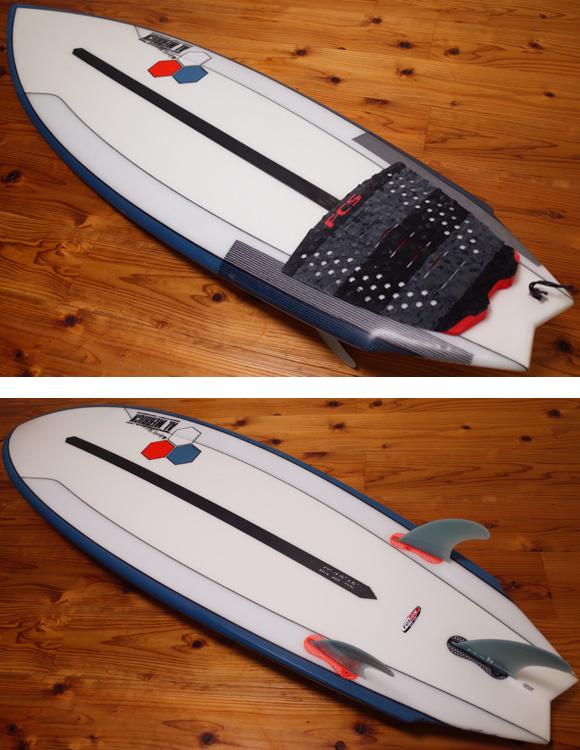 アルメリック TWIN FIN FUSION DUAL CORA 5`4 中古ショートボード deck/bottom No.96291433