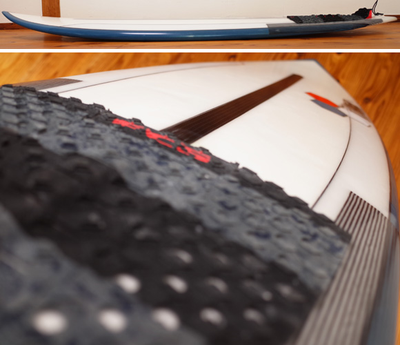 アルメリック TWIN FIN FUSION DUAL CORA 5`4 中古ショートボード deck-condition No.96291433