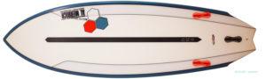 アルメリック TWIN FIN FUSION DUAL CORA 5`4 中古ショートボード bottom-zoom No.96291433