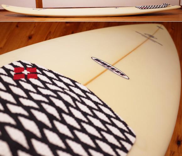 初心者 BREEZE サーフボード WS 中古ファンボード 6`6 deck-condition No.96291435
