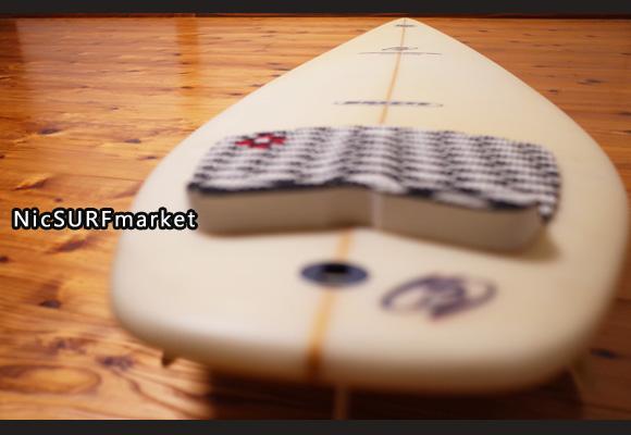 初心者 BREEZE サーフボード WS 中古ファンボード 6`6 deck-detail No.96291435