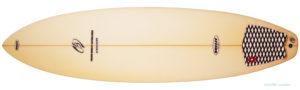 初心者 BREEZE サーフボード WS 中古ファンボード 6`6 deck-zoom No.96291435