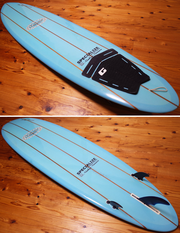 Waicocoサーフボード / SPECIALIZE 中古ファンボード 7`2  deck/bottom No.96291435