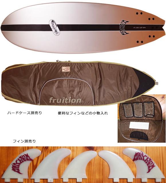 プレセボ RNF-EVOLUTION 中古ショートボード 6`1 fin/ハードケース No.96291443