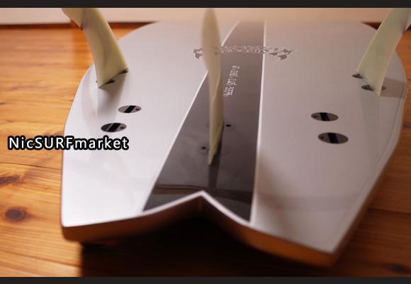 プレセボ RNF-EVOLUTION 中古ショートボード 6`1 bottom-design No.96291443