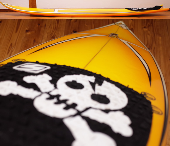 JSサーフボード 中古ショートボード 5`9 JAPAN MODEL deck-condition No.96291444