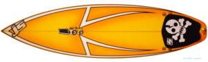 JSサーフボード 中古ショートボード 5`9 JAPAN MODEL deck-zoom No.96291444