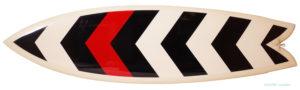 クリステンソン サーフボード TWIN FISH 6`1 中古 deck-zoom No.96291447