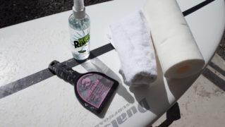 サーフボード ワックスのキレイな剥がし方ー準備するもの