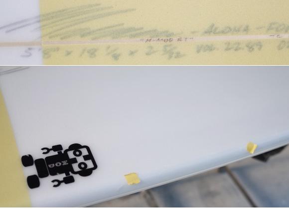 「仕入れ情報」T&C タウンアンドカントリーサーフボード H・MOD 5'8の中古サーフボード入荷 condition