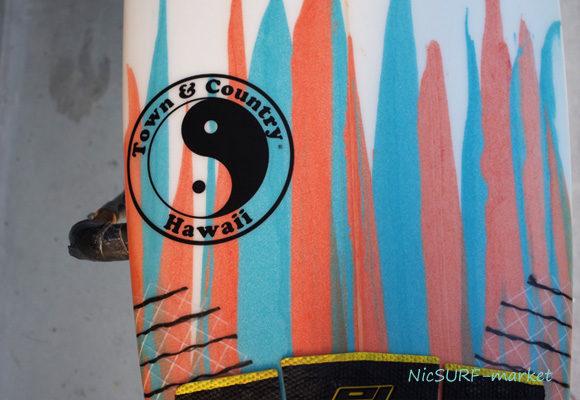 「仕入れ情報」T&C タウンアンドカントリーサーフボード H・MOD 5'6の中古サーフボード入荷