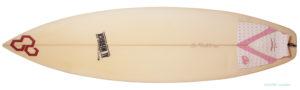 アルメリック Flyer-F deck-zoom 中古ショートボード 5`10 小波モデル No.96291448