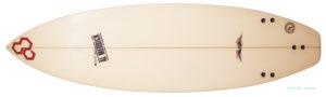 アルメリック Flyer-F 中古ショートボード 5`10 小波モデル bottom-zoom No.96291448