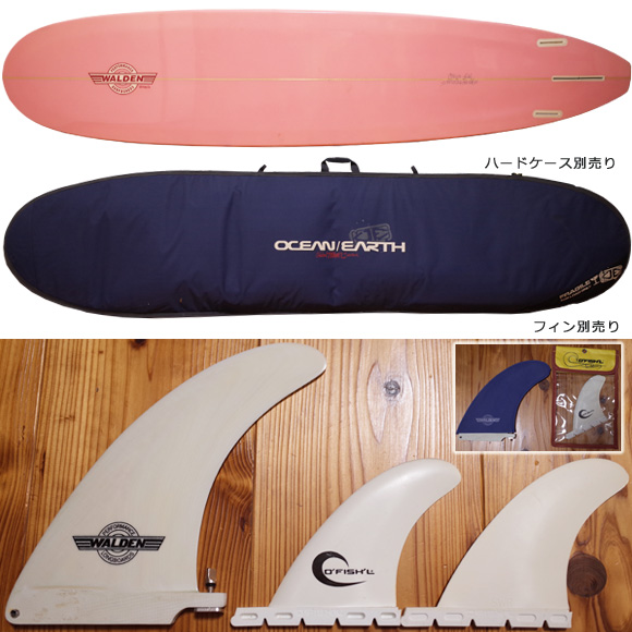 ウォルデンサーフボード Wahine 中古ロングボード 9`0 fin/hardcase No.96291449
