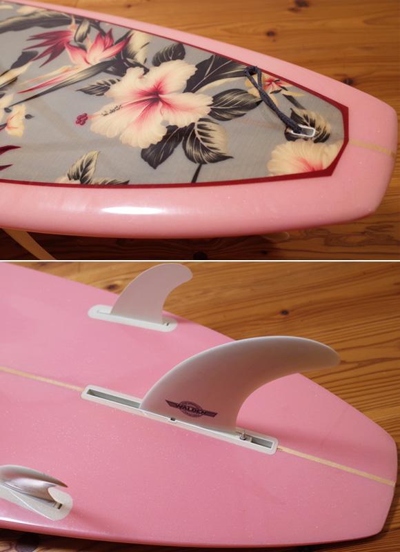 ウォルデンサーフボード Wahine 中古ロングボード 9`0 tail No.96291449