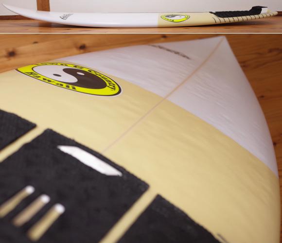 T&C タウンアンドカントリーサーフボード H・MOD 中古ショートボード 5`8 deck-condition No.96291451