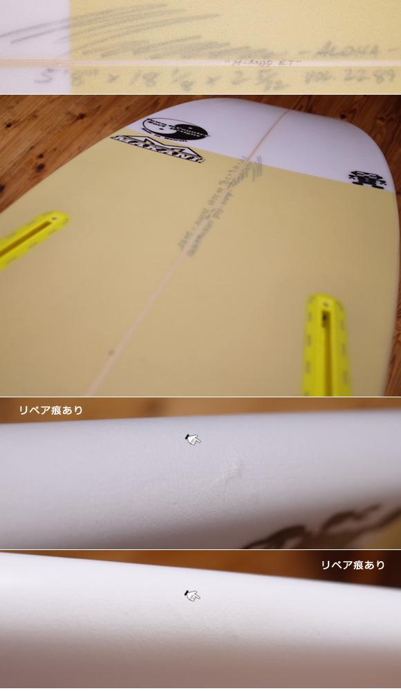 T&C タウンアンドカントリーサーフボード H・MOD 中古ショートボード 5`8 condition No.96291451