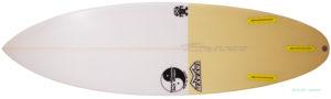 T&C タウンアンドカントリーサーフボード H・MOD 中古ショートボード 5`8 zoom-bottom No.96291451