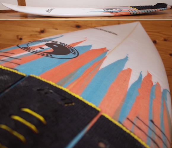 T&C タウンアンドカントリーサーフボード H・MOD 中古ショートボード 5`6 deck-condition No.96291452