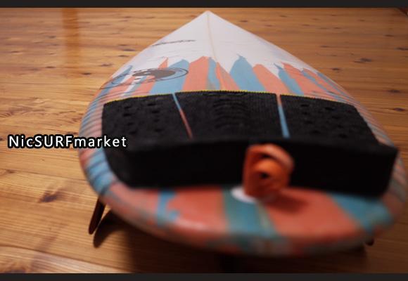 T&C タウンアンドカントリーサーフボード H・MOD 中古ショートボード 5`6 deck-detail No.96291452