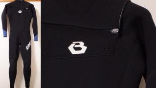 BEWET ビーウェット 中古ウェットスーツ 3/2mm フルスーツ SLANT-ZIP メンズ 激安新古 No.96291454
