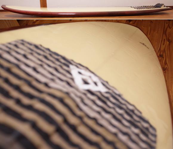ASDサーフボード ABE 中古ファンボード 6`4 deck-condition No.96291455
