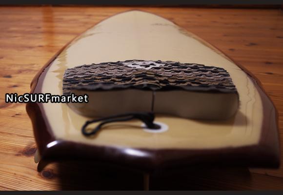 ASDサーフボード ABE 中古ファンボード 6`4 deck-detail No.96291455