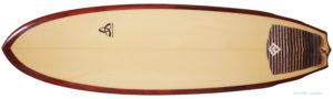 ASDサーフボード ABE 中古ファンボード 6`4 deck-zoom No.96291455